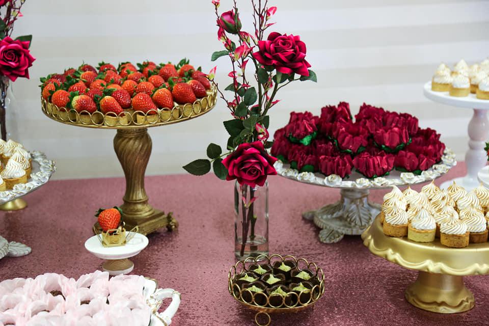 décoration table dessert anniversaire belle formation