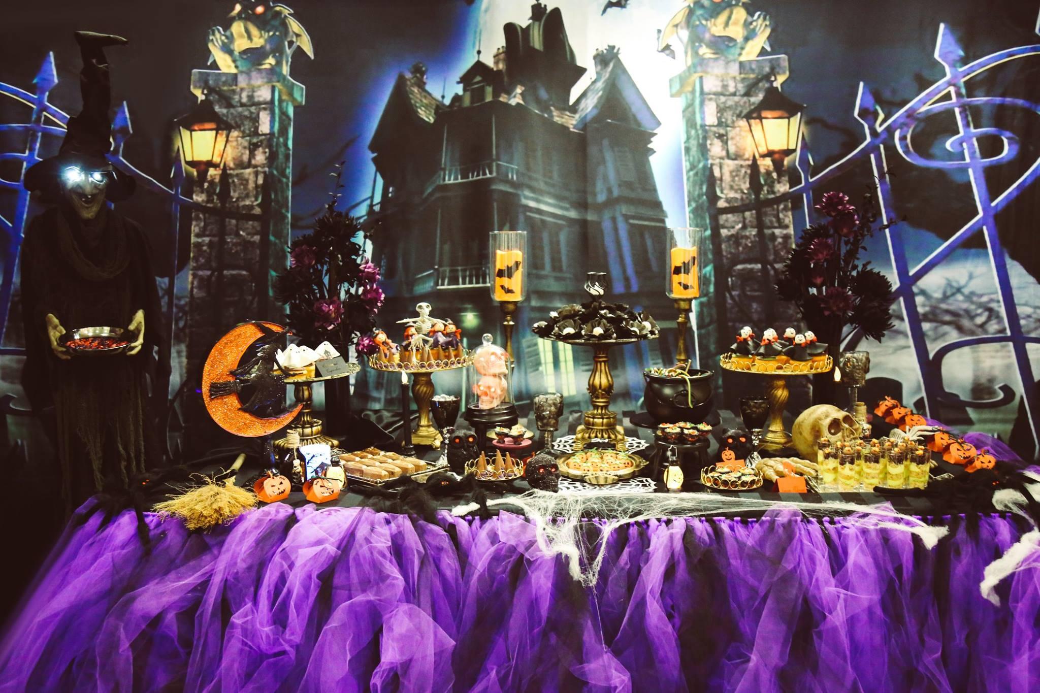 décoration halloween belle formation