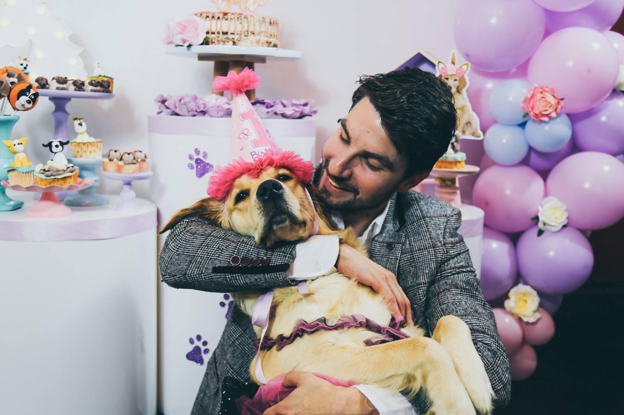 décoration anniversaire chien belle formation